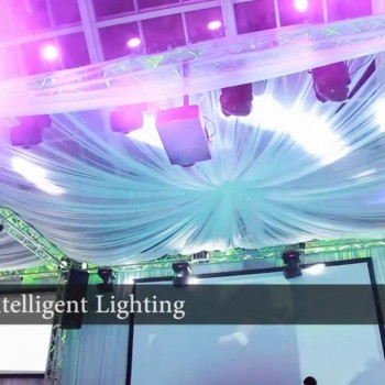 Intelligent Lighting for bar mitzvahs and bat mitzvahs