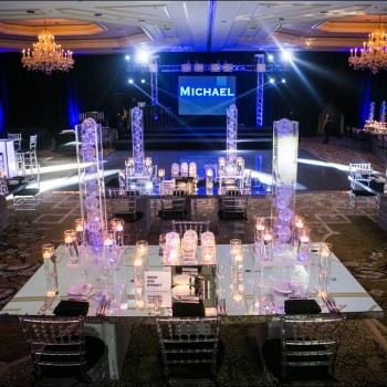 Celebrity Entertainment Mitzvahs - lighting and decor